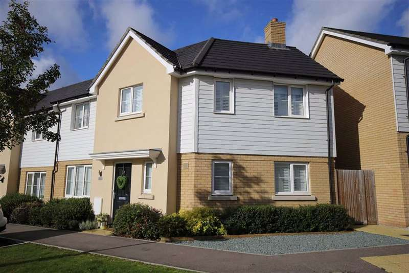 3 Bedrooms Semi Detached House for sale in Borough Green, Kent