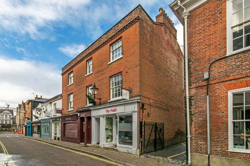 2 Bedrooms Maisonette Flat for sale in Parchment Street, Winchester, SO23