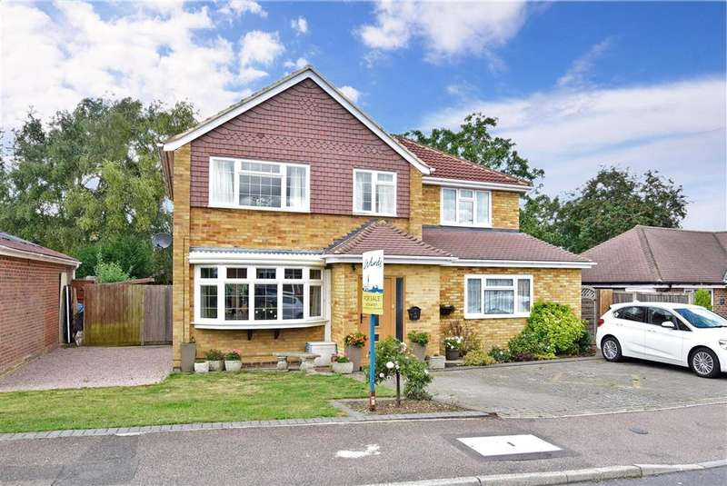 4 Bedrooms Detached House for sale in Cottenham Close, , East Malling, Kent