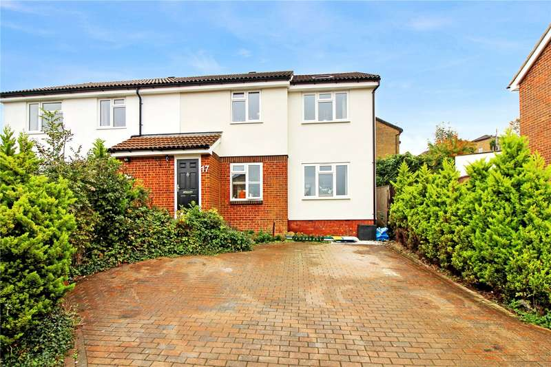 4 Bedrooms Semi Detached House for sale in Winchelsea Road, Walderslade, Chatham, Kent, ME5