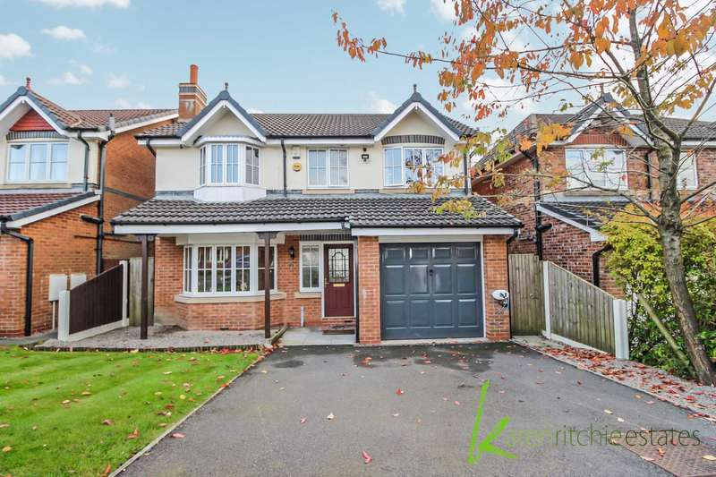 4 Bedrooms Detached House for sale in Holmebrook Drive, Bolton