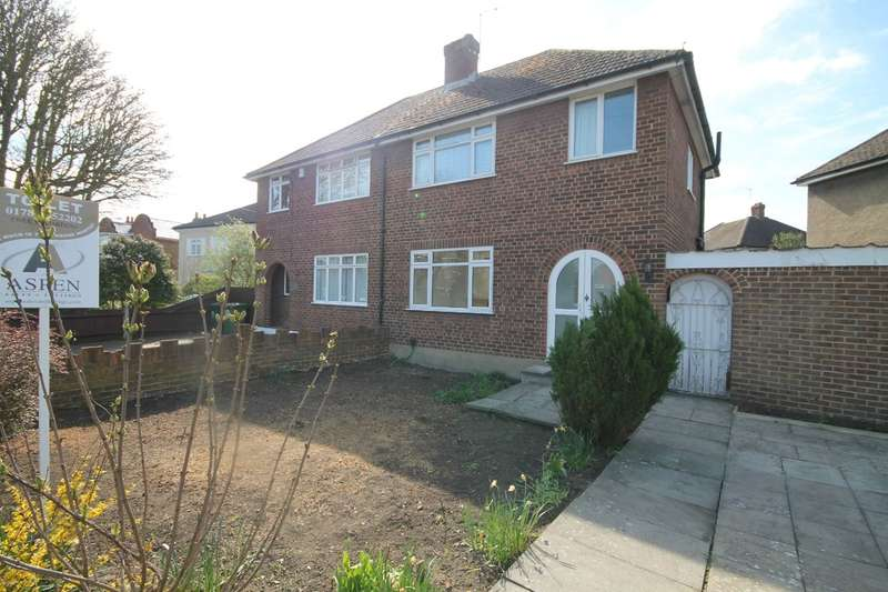 3 Bedrooms Semi Detached House for rent in Feltham Hill Road, Ashford, TW15