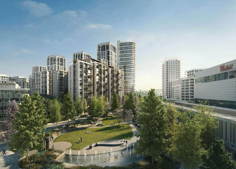 3 Bedrooms Apartment Flat for sale in White City Living, 54 Wood Lane, London W12 7RQ