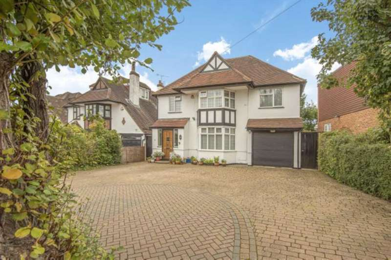 5 Bedrooms Detached House for sale in Deacons Hill Road, Elstree
