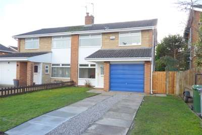 3 Bedrooms Semi Detached House for rent in Fulbrook Close, Spital