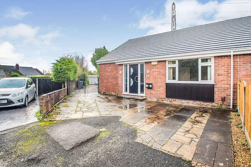 3 Bedrooms Semi Detached Bungalow for sale in Wentworth Close, Radcliffe, M26