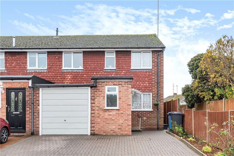 3 Bedrooms End Of Terrace House for sale in Christchurch Drive, Blackwater, Camberley, Hampshire, GU17