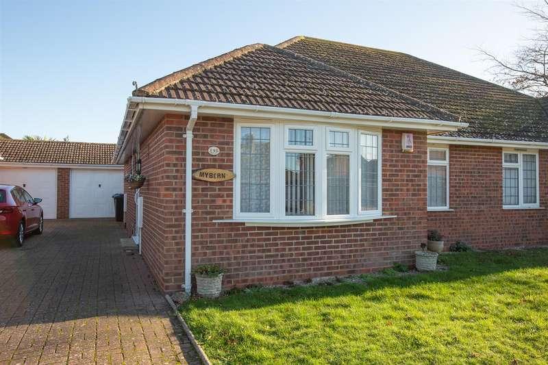 2 Bedrooms Semi Detached Bungalow for sale in Rose Gardens, Birchington
