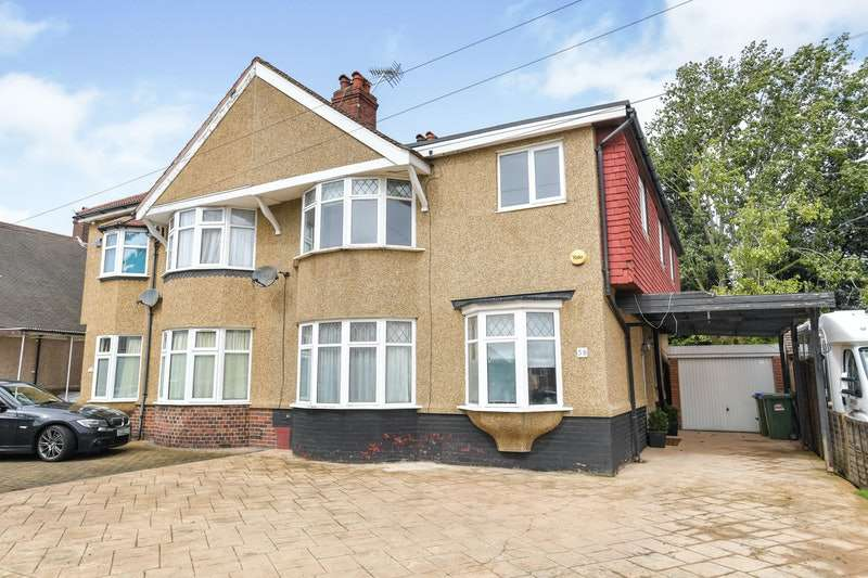 5 Bedrooms Semi Detached House for sale in Northumberland Avenue, Welling, Kent, DA16