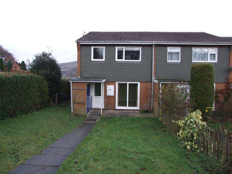 3 Bedrooms End Of Terrace House for rent in 54 Radnor Drive, Knighton, Powys, LD7 1HN