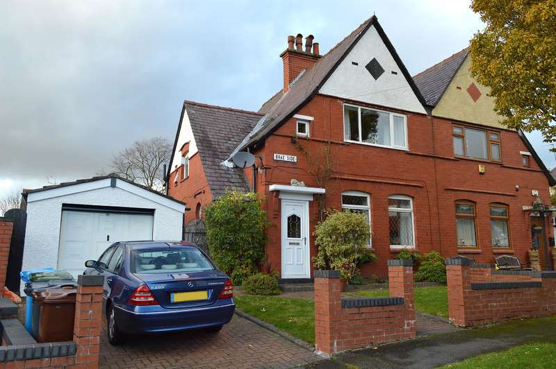 3 Bedrooms Semi Detached House for sale in Brae Side, Garden Suburbs, Oldham, OL8 3AP
