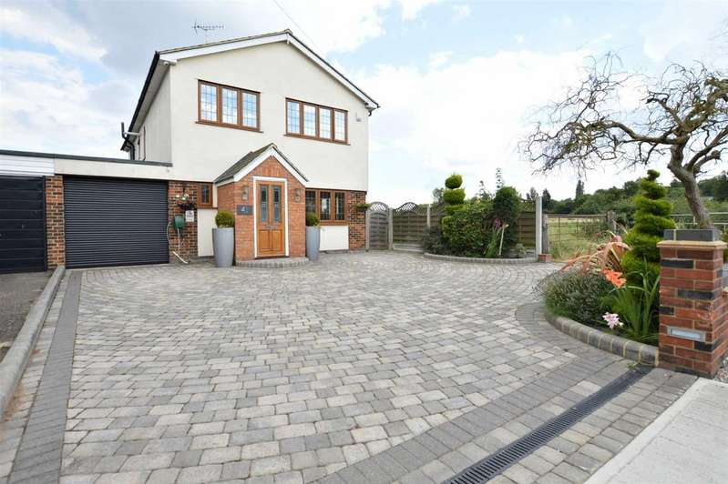 4 Bedrooms Detached House for sale in Duck Lane, Thornwood Common