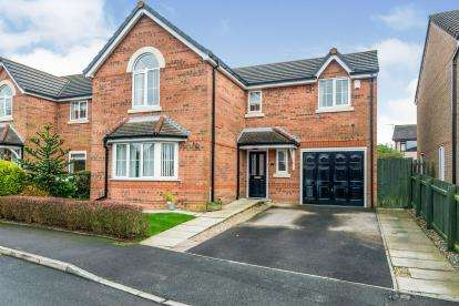 4 Bedrooms Detached House for sale in Sandyway Close, Westhoughton, Bolton, Greater Manchester, BL5