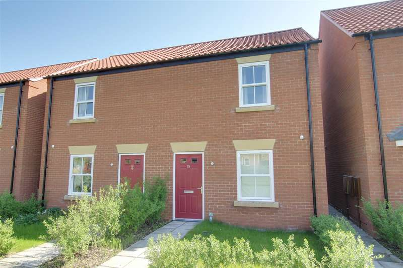 2 Bedrooms Semi Detached House for sale in Hazel Walk, Alford