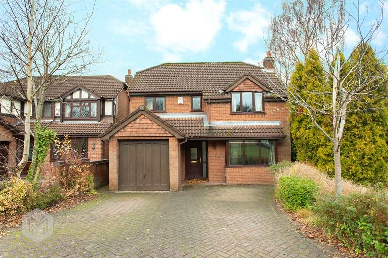 4 Bedrooms Detached House for sale in Bryngs Drive, Bolton, Greater Manchester, BL2