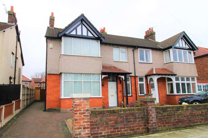 4 Bedrooms Semi Detached House for sale in Moor Drive, Crosby, Liverpool