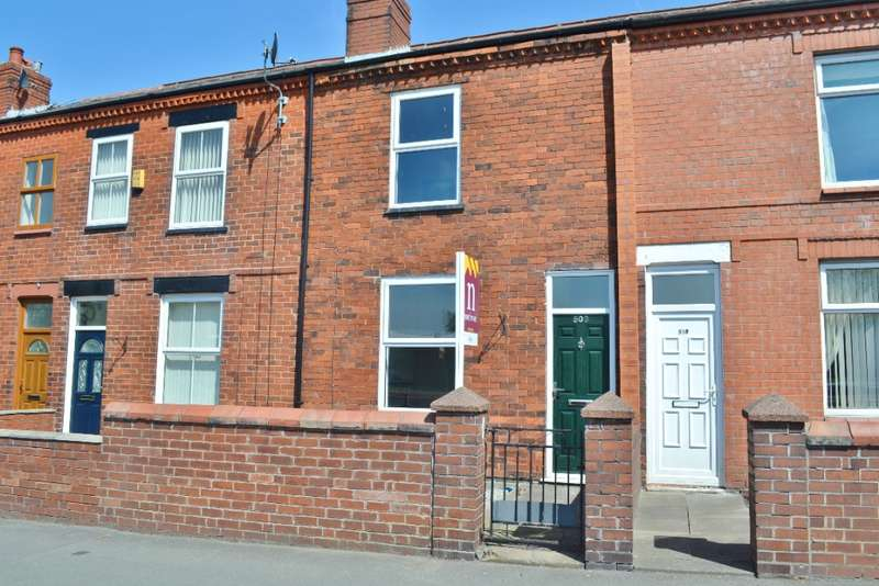 2 Bedrooms Terraced House for rent in Warrington Road, Goose Green, Wigan, WN3 6QF