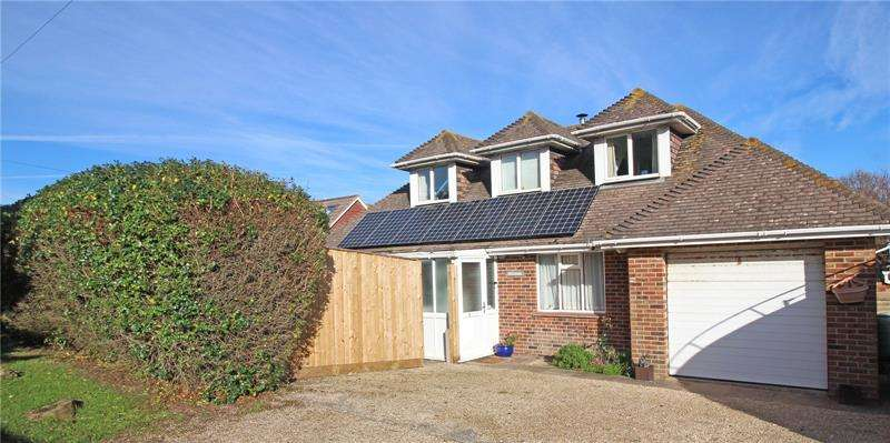 4 Bedrooms Detached House for sale in Pless Road, Milford on Sea, Lymington, SO41