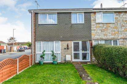 3 Bedrooms End Of Terrace House for sale in Tiberius Road, Luton, Bedfordshire