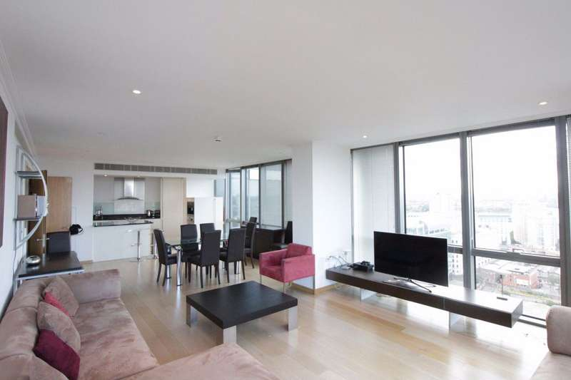 2 Bedrooms Flat for rent in West India Quay, Canary Wharf