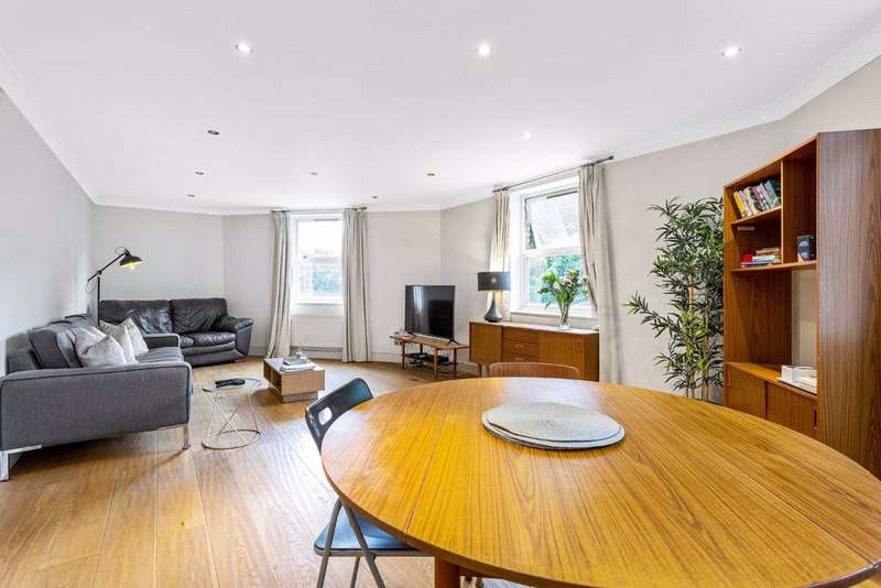 2 Bedrooms Flat for rent in Nightingale Lane, Clapham South, London