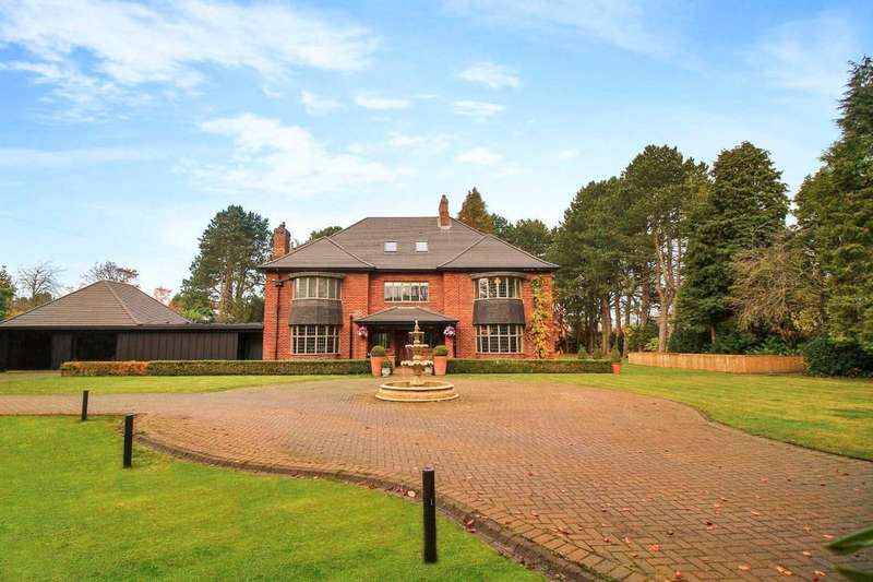 5 Bedrooms Detached House for sale in South Drive, Woolsington, Newcastle Upon Tyne