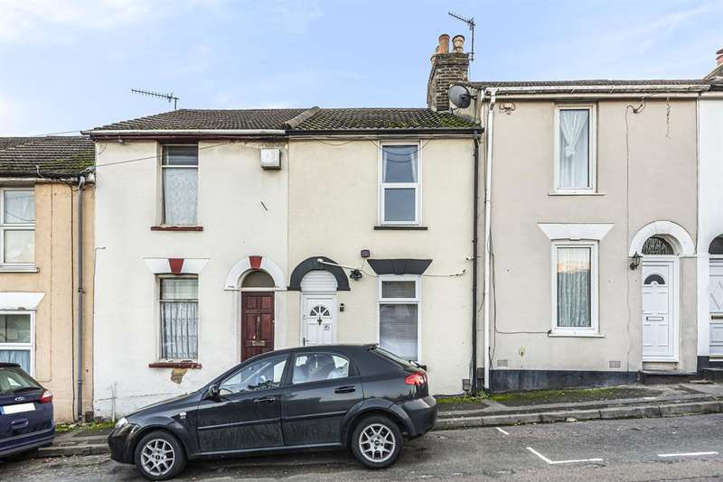 2 Bedrooms Terraced House for sale in Cromwell Terrace, Chatham