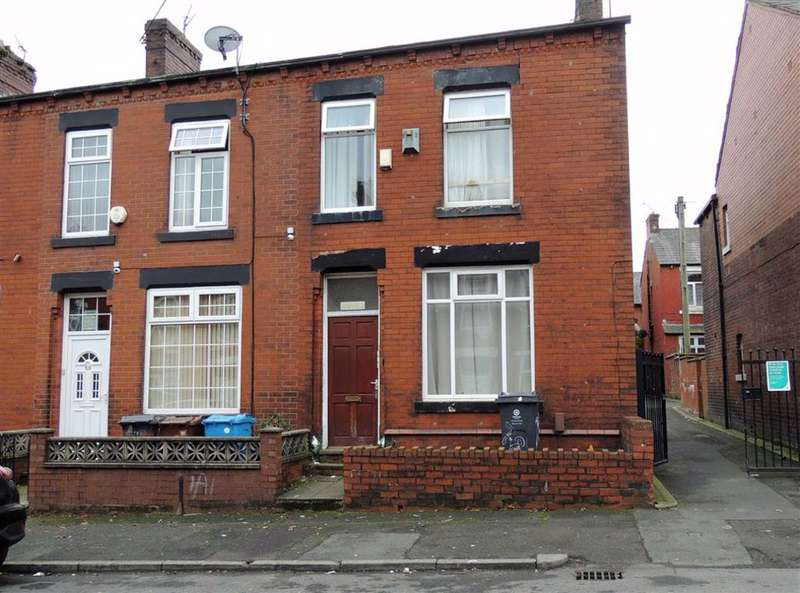 3 Bedrooms End Of Terrace House for sale in Villa Road, Hathershaw, Oldham