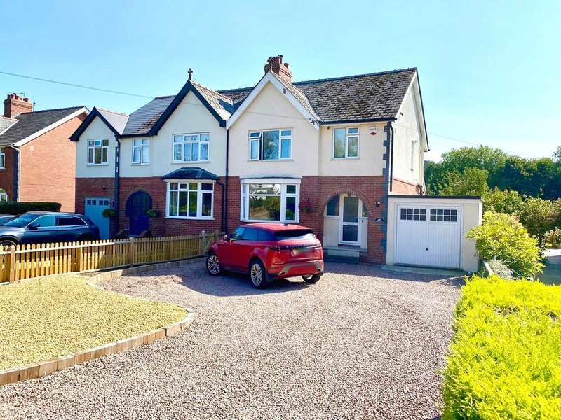 3 Bedrooms Semi Detached House for sale in New Dixton Road, Monmouth
