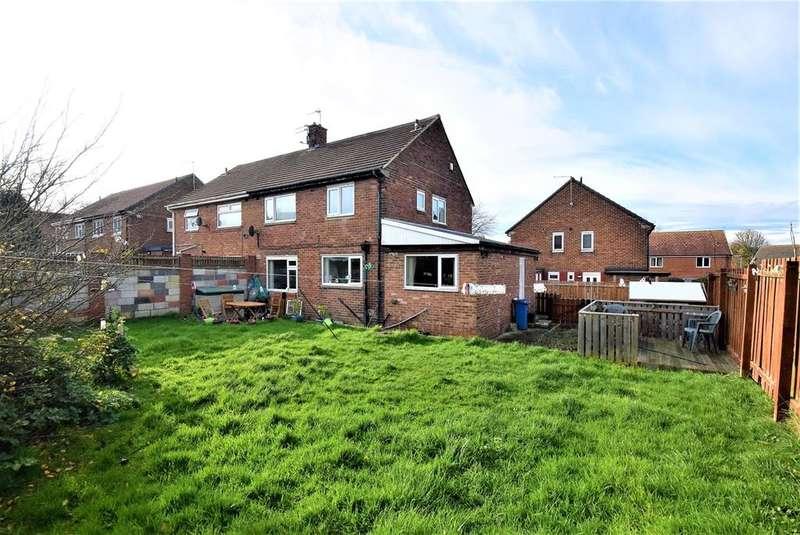 4 Bedrooms Semi Detached House for rent in Ramsay Close, Peterlee, County Durham, SR8 5EL
