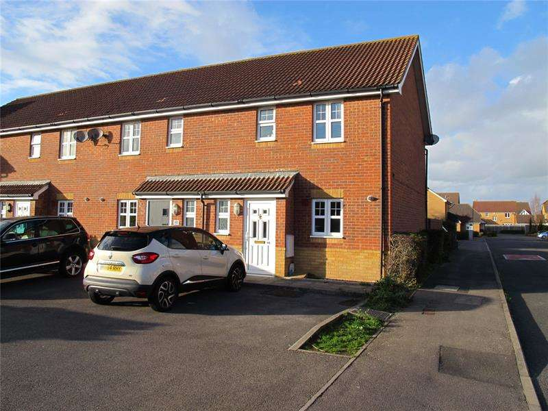 2 Bedrooms End Of Terrace House for sale in Westland Drive, Lee-On-The-Solent, Hampshire, PO13