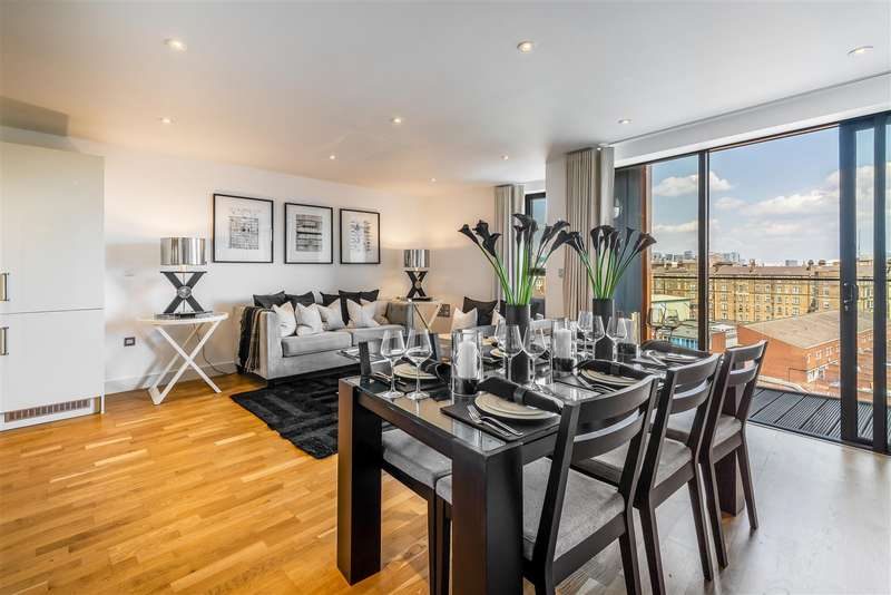 2 Bedrooms Apartment Flat for sale in Arc House, Maltby Street, Tower Bridge, London