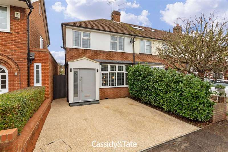3 Bedrooms Property for sale in Boleyn Drive, St. Albans, Hertfordshire - AL1 2BP