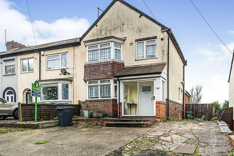 3 Bedrooms End Of Terrace House for sale in Powke Lane, Rowley Regis, West Midlands, B65