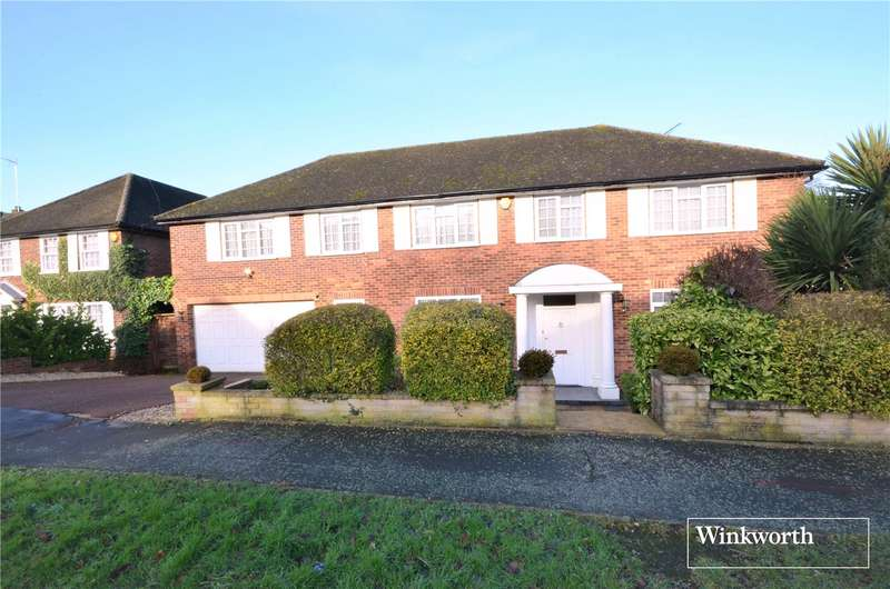 5 Bedrooms Detached House for sale in Summer Hill, Elstree, Hertfordshire, WD6