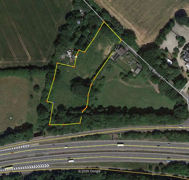 Land Commercial for sale in Land South East Of Ivy Barn Lane, Margaretting, Ingatestone, Essex