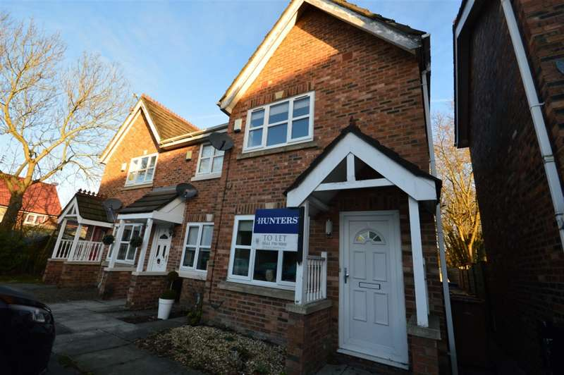 2 Bedrooms Semi Detached House for rent in Meremanor, Worsley, Manchester, M28 7JP