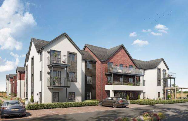 2 Bedrooms Flat for sale in Shortwood Copse Lane, Basingstoke, Hants