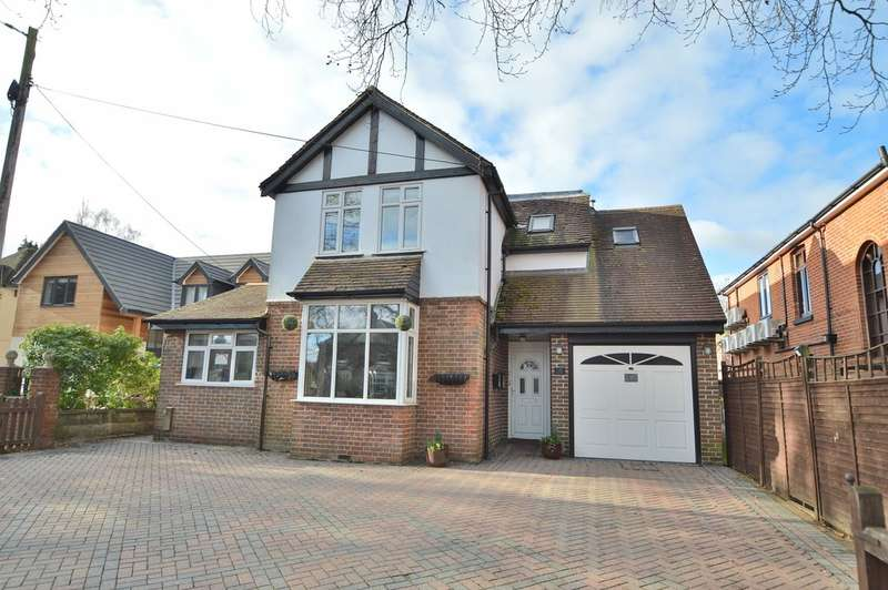 4 Bedrooms Detached House for sale in Hursley Road, Chandler's Ford
