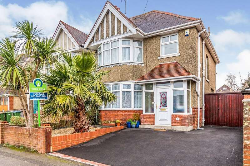 3 Bedrooms Semi Detached House for sale in Greville Road, Southampton, Hampshire, SO15