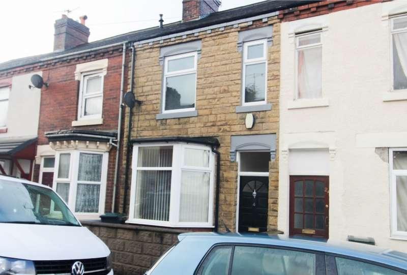 3 Bedrooms Terraced House for rent in Furnival Street, Cobridge, Stoke-on-Trent, ST6