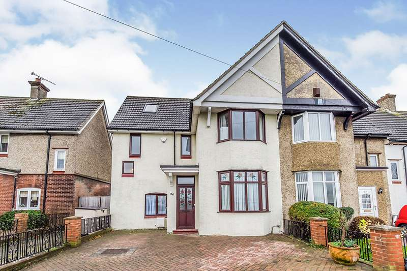 4 Bedrooms End Of Terrace House for sale in Sir Evelyn Road, Rochester, Kent, ME1