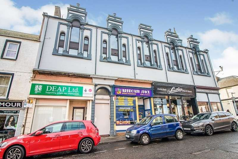 2 Bedrooms Flat for rent in Keptie Street, Arbroath, DD11