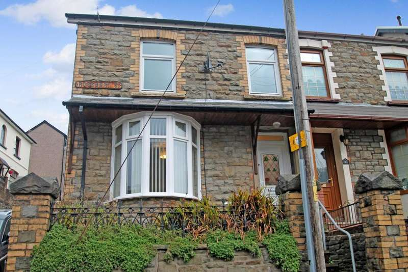2 Bedrooms Semi Detached House for sale in Rosebery Street, Abertillery, Blaenau Gwent, NP13 1TH