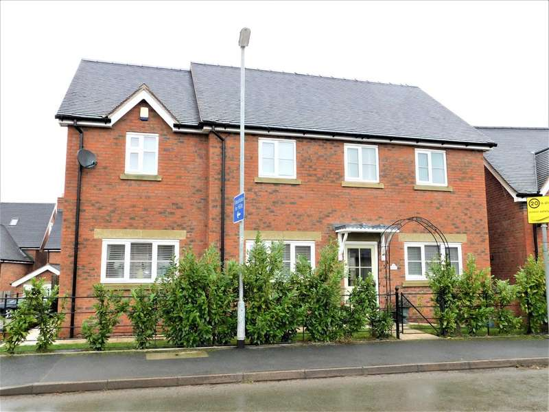 4 Bedrooms Detached House for rent in Green Farm Meadows, Seighford, Stafford