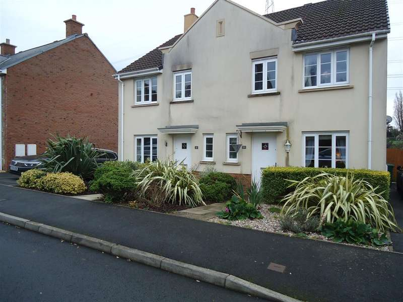 3 Bedrooms Semi Detached House for rent in Monument Close, Portskewett, Caldicot