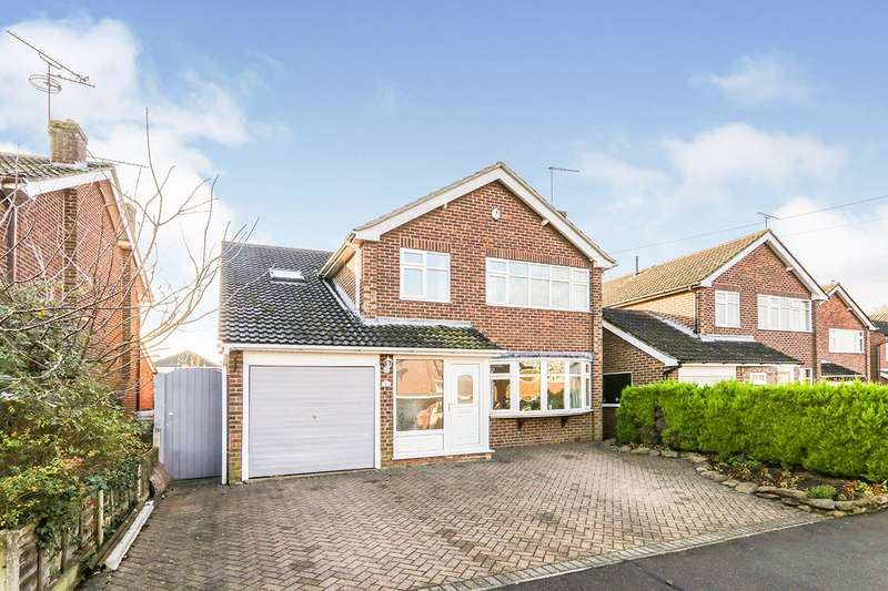 5 Bedrooms Detached House for sale in Harecroft Crescent, Sapcote, Leicester, Leicestershire, LE9