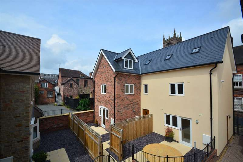 4 Bedrooms House for sale in 9 Steeple Mews, Pepper Lane, Ludlow, Shropshire, SY8