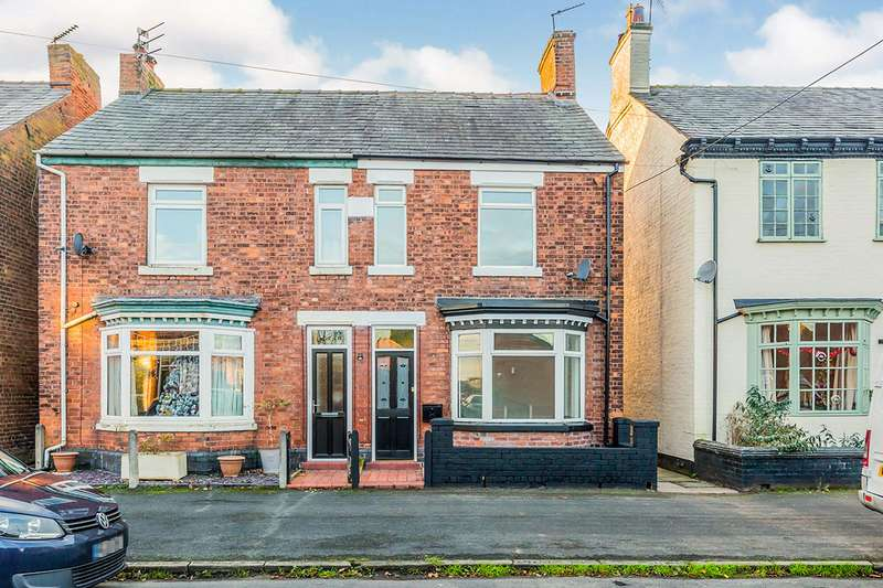 2 Bedrooms Semi Detached House for sale in New King Street, Middlewich, Cheshire, CW10