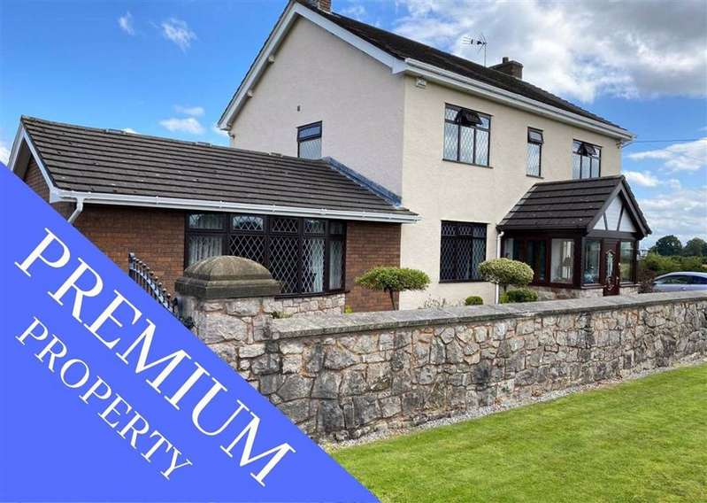4 Bedrooms Detached House for sale in Lower Mountain Road, Hope, Wrexham